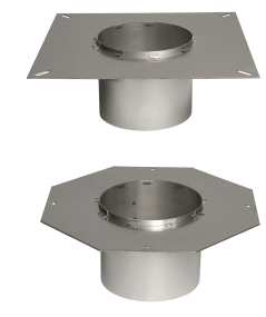 flanges round and square